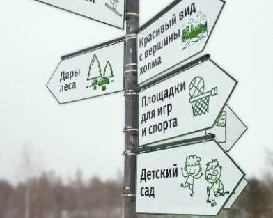 ЖК Eco City - указатели